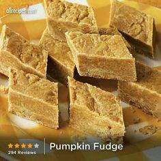 Pumkin Fudge