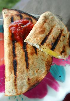 Undressed Skeleton — Fab Fit Day: Grilled Hawaiian Quesadilla