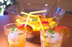 White Peach Sangria This is the way I remember it from a long time ago :) I…