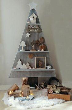 Новогодний дисплей вместо привычной ели - Ярмарка Мастеров - ручная работа, handmade