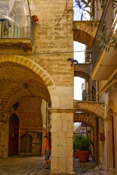 Bari - old town, detail - Italy