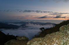Mt. Giri-cloud ocean