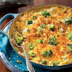 Hearty Thanksgiving Casseroles: Cheesy Broccoli-and-Rice Casserole