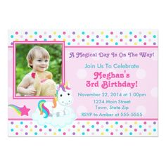 Now it's your turn to pop the big question! Ask your girls to be with you on your special day with Birthday bridal party proposal cards from Zazzle! 1st Birthday Invitation Wording, Unicorn Birthday Invitations, Unicorn Birthday Parties, Unicorn Party, First Birthday Parties, Birthday Cards, Birthday Diy, Rainbow Unicorn, Girl Birthday