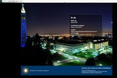 Tip: Upload your custom Berkeley photo as your background image!
