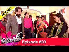 Naayagi Promo for Episode 600 Tamil Language, All Episodes, Youtube, Youtubers, Youtube Movies