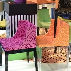 """Kartell goes Sottsass. A tribute to Memphis"" al Fuorisalone 2015"