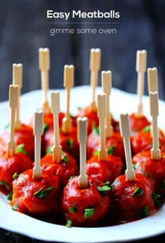 A quick and easy for Italian meatballs served with a smoky tomato sauce. - use almond flour instead of the breadcrumbs