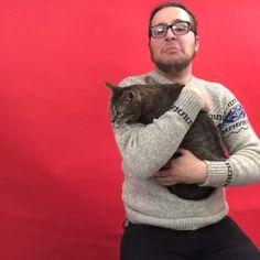 Cat lovers be like #Catsie... Visit CatsieAwards.Tumblr.com for more cat selfies. w/ Nicholas Megalis
