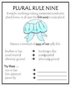 plural rule 9 - Google Search