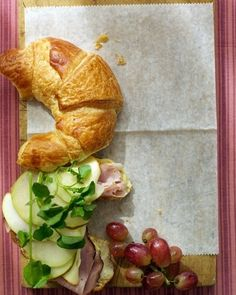 Ham and Cheese Croissant | 27 Awesome Easy Lunches To Bring To Work