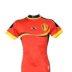 Belgian Soccer Jersey 2012