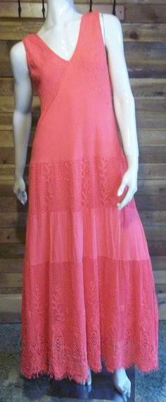 NWT V CRISTINA RED SIZE LARGE 100% COTTON DRESS #VCRISTINA #Sundress #Clubwear