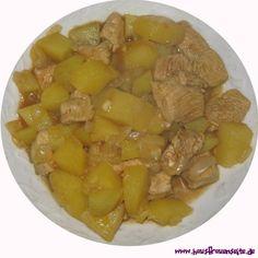 Hähnchengulasch auf persische Art  unser persisches Hähnchengulasch für 2 Personen laktosefrei glutenfrei Iran, Dishes, Cooking, Food, International Recipes, Afghan Cuisine, Arabian Food, Persian Recipes, Oriental Recipes