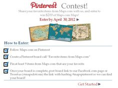 Enter Today! For additional information: http://on.fb.me/Hz93OZ