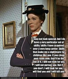 Love her... Mary Poppins