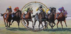 Lyn Beaumont Equine Art  Mi piace questa Pagina · 5 aprile 2015 ·      This composite painting was commissioned by Moonee Valley Racing Club as a gift of appreciation to Tatts Australia for their sponsorship of the Cox Plate from 2006-2011. The horses are, from left to right, Fields of Omagh, El Segundo, Maldivian, So You Think, So You Think, and Pinker Pinker.