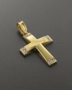 Gold Cross, Jewelery, Rings, Bracelets, Jewels, Style, Accessories, Fashion Styles, Jewlery