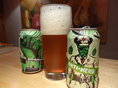 """Anti Hero IPA - have to say just """"ok"""" at best.  Didn't help its cause that I had another local Chicago brewery IPA right after it and that one was leaps and bounds better."""
