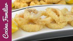 Calamares fritos a la andaluza | Javier Romero