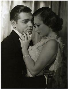 Clark Gable and Joan Crawford soooo glamorous!