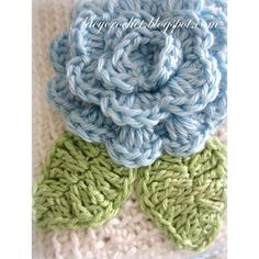 10 Adorable Free Crochet Flower Patterns - The Cottage Market
