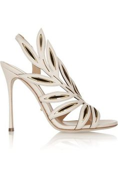 Sergio Rossi cut out sandals
