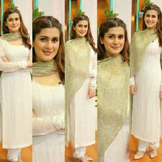Hot Pakistani Actresses 🇵🇰, [Feb 2020 at AM] Momina Simple Pakistani Dresses, Indian Dresses, Traditional Looks, Traditional Outfits, Indian Star, Girl Trends, Hijabi Girl, Pakistan Fashion, Pakistani Actress