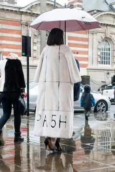 Pin for Later: See All the Best Street Style From LFW LFW Street Style Day 3