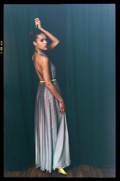 Kleid — Alba von ANNE WOLF Fotografie — Alexander Wolf Haare und Make-up — Beatrice Korff Model — Marie