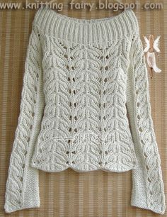 Detayi Kazak Knitting Pullover Ör Ö Hand Knitted Sweaters, Sweater Knitting Patterns, Lace Knitting, Knitting Designs, Knit Patterns, Crochet Lace, Pullover Design, Handgestrickte Pullover, Sweater Design