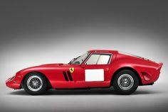 Ferrari 250 GTO Berlinetta 1962 - side view. Sold at Bonhams Quail Lodge action in 2014 for a total, including 10% commission, of US$38,115,000 (£22,687,500)