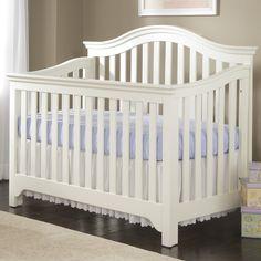 Creations Mesa Convertible Crib in White