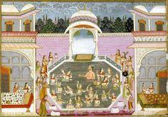 Holi in Mughal India