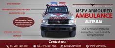 Armored or Bulletproof Ambulance AUSTRALIA