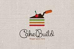 Cake Building Logo by Mangga Design on Bookmark Template, Journal Template, Binder Templates, Sign Templates, Page Design, Book Design, Building Logo, Newsletter Design, Planner Layout