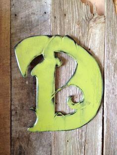 Items similar to Door Hanger Letter D - Old World Font on Etsy Letter D, Letter A Crafts, Wooden Door Hangers, Wooden Doors, Wooden Letters, Letters And Numbers, Lettering Design, Vintage Japanese, Old World