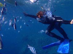 Mergulhando em Okinawa