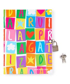 Word Search Personal Locked Diary