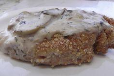 "Breaded"" Pork Chops With Mustard Sauce (Gluten-Free) Recipe ..."