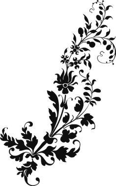 Stencil Patterns, Stencil Painting, Stencil Designs, Fabric Painting, Pattern Art, Damask Stencil, Paisley Pattern, Baroque Decor, Baroque Design