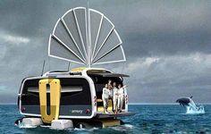 The Amphibious Eco RV