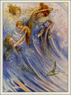 PISCES CHILDREN are incredibly tender and compassionate, and they need extra affection from their parents. Your little Pisces may want to be held nonstop as a baby and will still need plenty of hugs, kisses, and encouragement as she grows older. (babycenter.com) (Flora White ~ Merfolk)