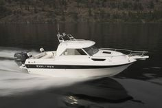 New 2012 Campion Boats BRA Explorer Pilot House Boat in Action Boat Covers, Salmon Fishing, Power Boats, Pilot, Surfing, Explore, Bra, Ships, Action