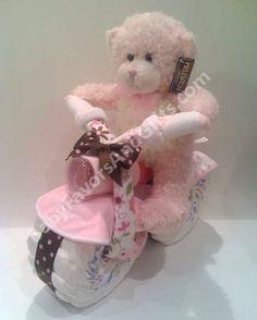motorcycle girl Diaper Gift