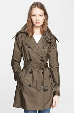 Burberry+Brit+'Balmoral'+Packable+Trench+available+at+#Nordstrom