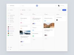 Task Board designed by Spline. Connect with them on Dribbble; the global community for designers and creative professionals. Dashboard Ui, Dashboard Design, App Design, Ui Web, User Interface Design, Web Design Inspiration, Design Ideas, Data Visualization, Behance