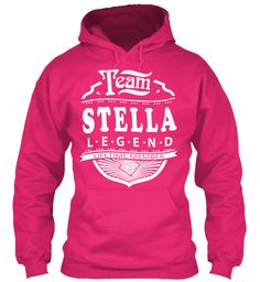 Team Stella Lifetime Member Heliconia Sweatshirt Front