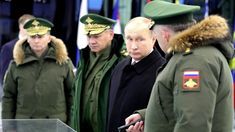 Putin Visits Peter The Great Military Academy