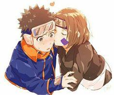 Obito and Rin Anime Naruto, Naruto Shippuden Sasuke, Naruto Und Sasuke, Kakashi And Obito, Madara Uchiha, Naruto Art, Otaku Anime, Anime Manga, Akatsuki
